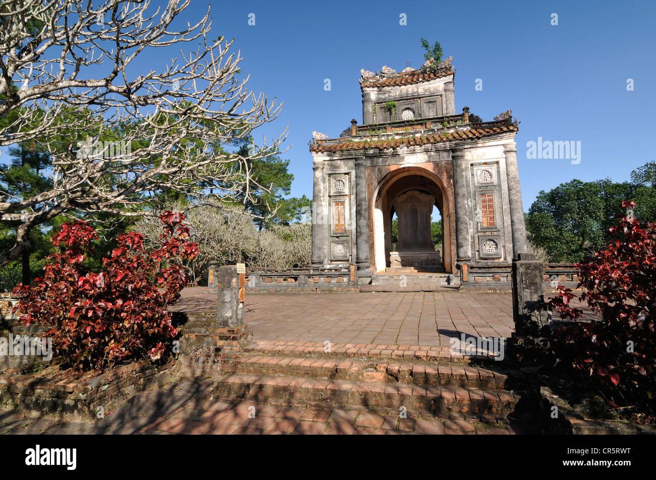 Emperor Tu Duc Mausoleum, Hue, North Vietnam, Vietnam, Southeast Asia, Asia - Stock Image