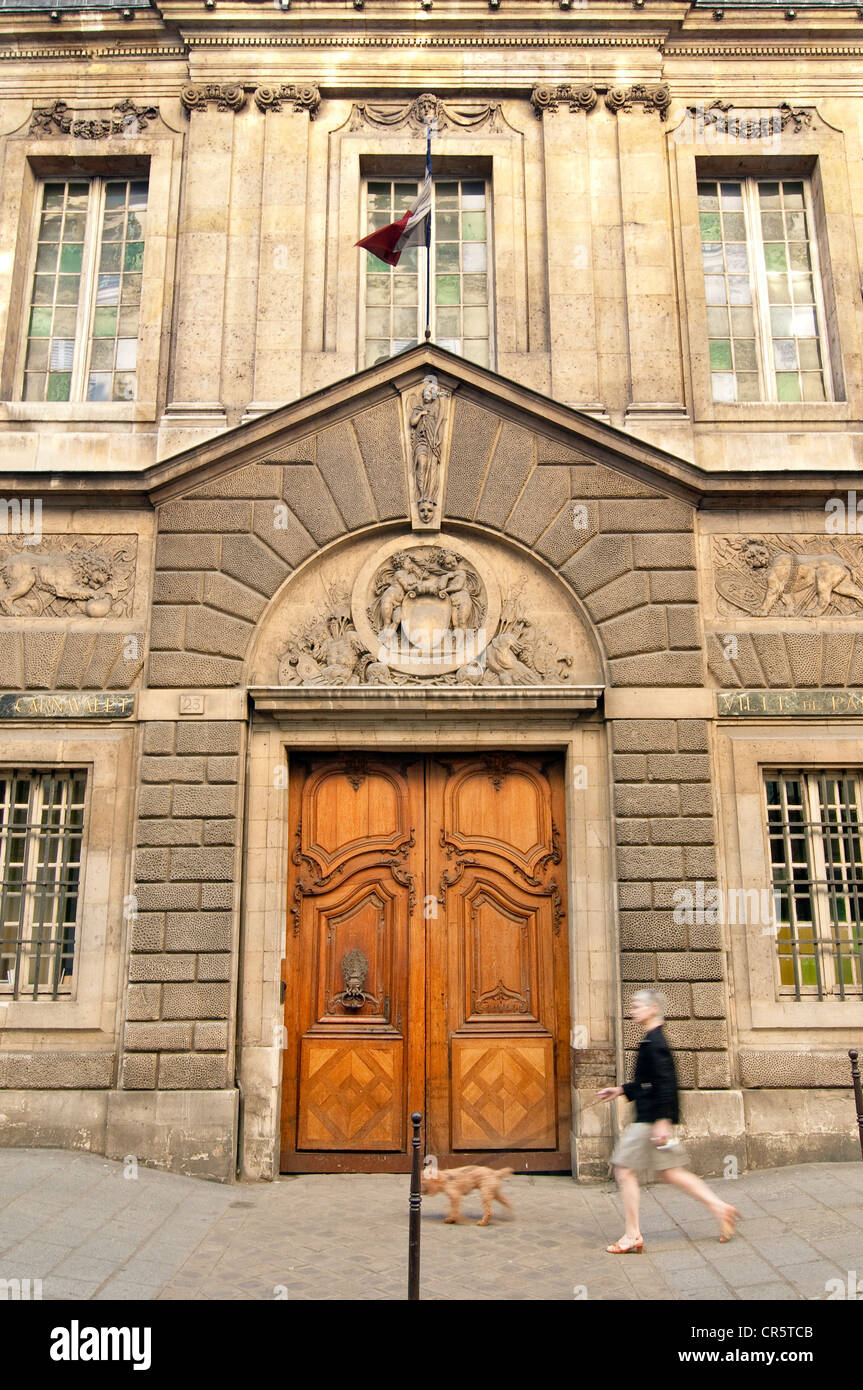 France, Paris, Carnavalet Museum - Stock Image