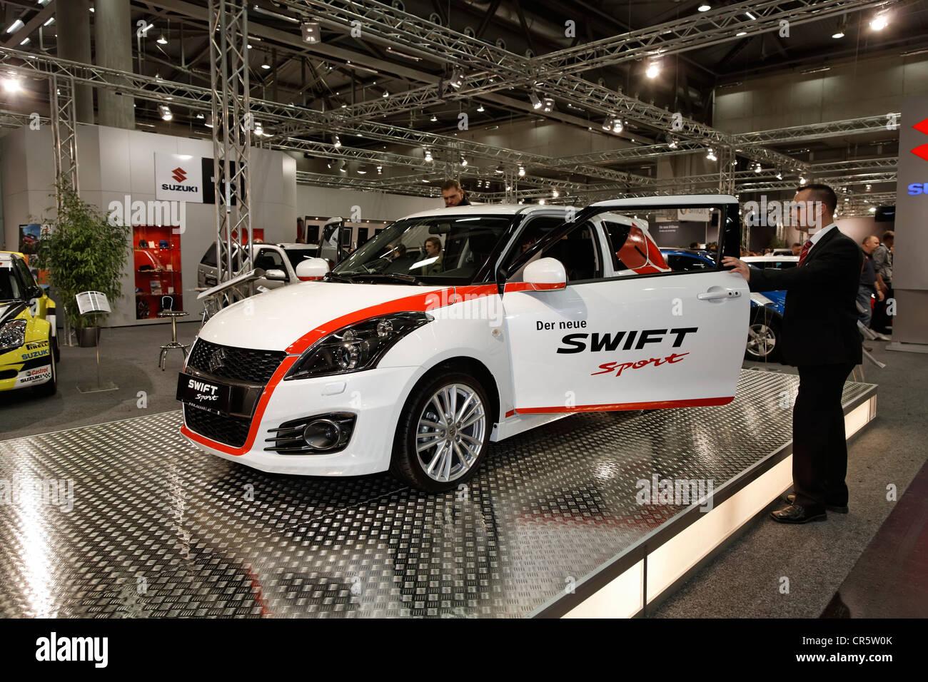 Suzuki Swift Sport on display at the Vienna Auto Show 2012, car show