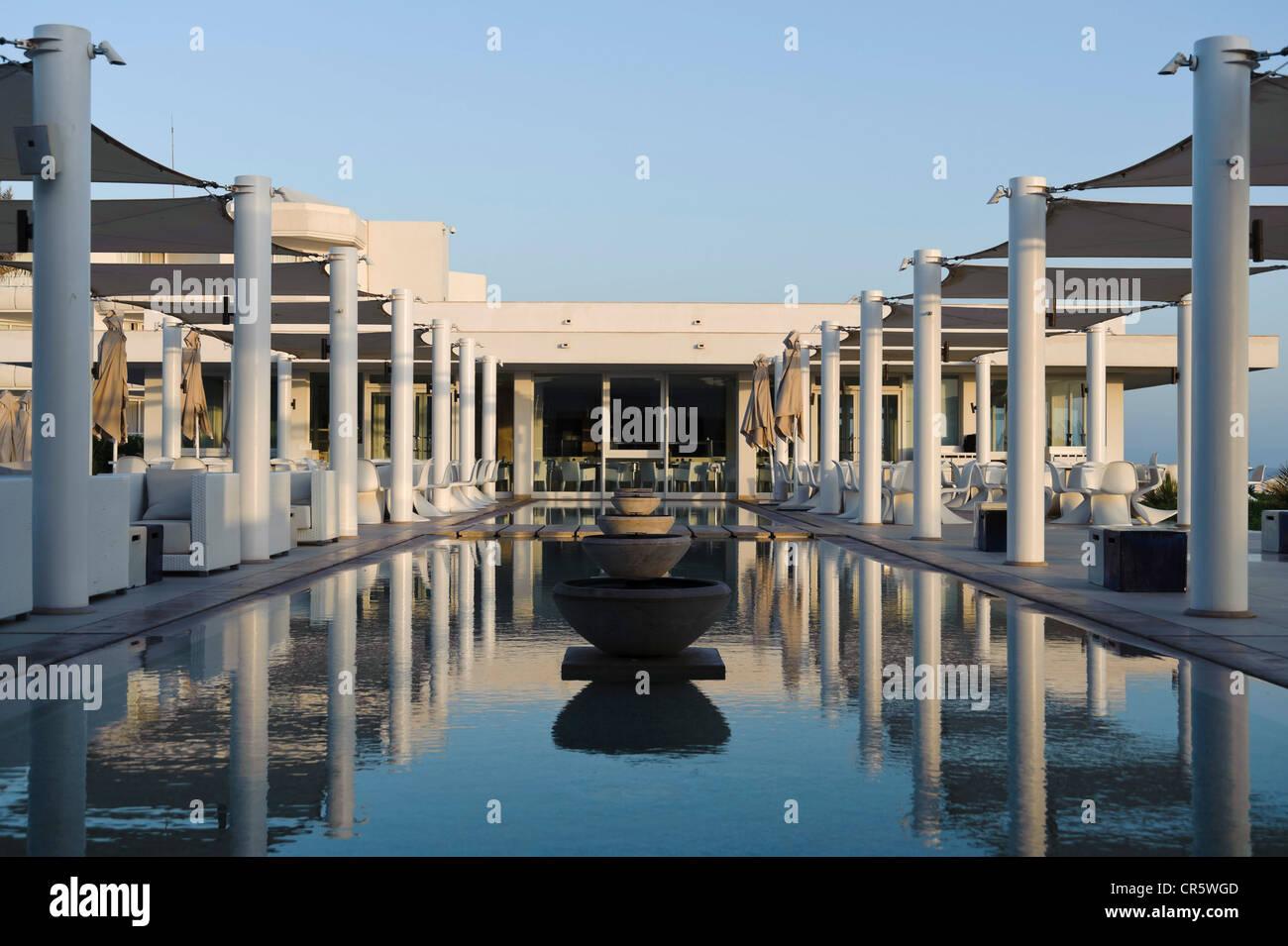 Radisson Blu hotel resort, Djerba, Tunisia, Maghreb, North Africa, Africa - Stock Image