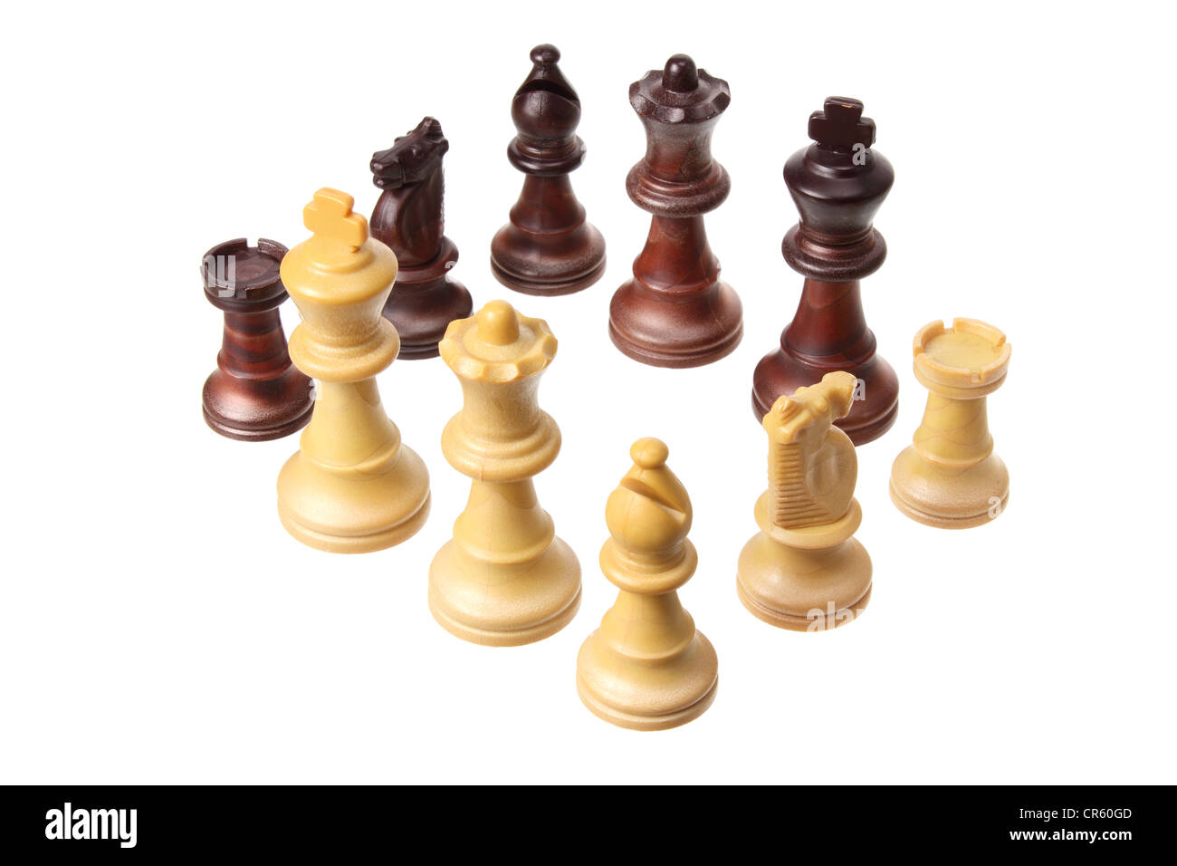 Chess Pieces - Stock Image