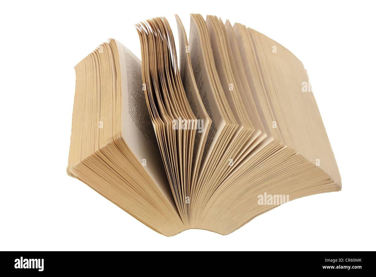 Paperback Novel - Stock Image