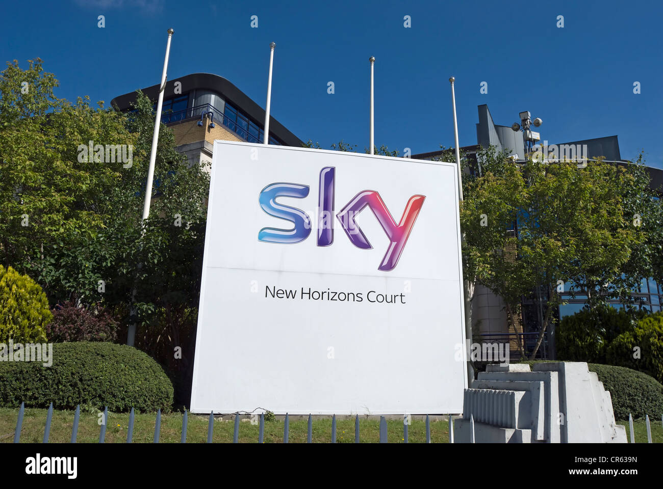new horizons court, pictured when still part of the headquarters of sky tv, isleworth, west london, england - Stock Image