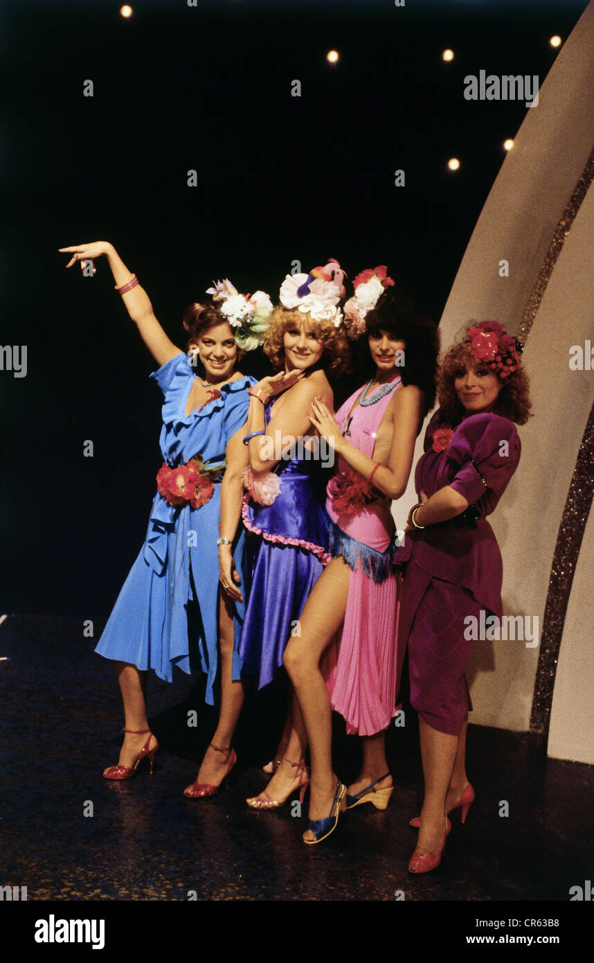 The Hornettes German Music Band Pop Group Picture Early 1980s Additional Rights Clearances NA