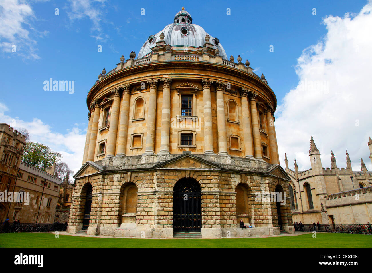 Radcliffe Camera, library and student reading room. Oxford, Oxfordshire, UK, Europe - Stock Image