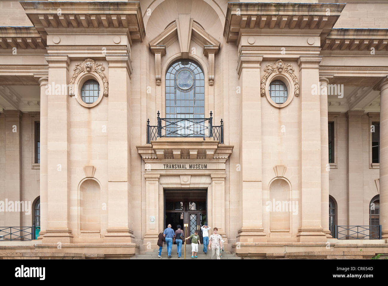South Africa, Gauteng Province, Pretoria, Transvaal Museum of Natural History created in 1892 - Stock Image