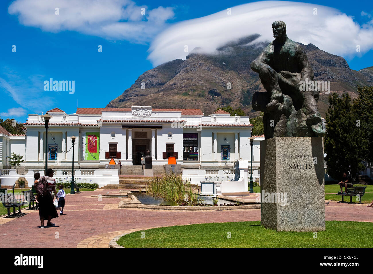 South Africa, Western Cape, Cape Town, the Company's Garden, the Iziko South African National Gallery - Stock Image