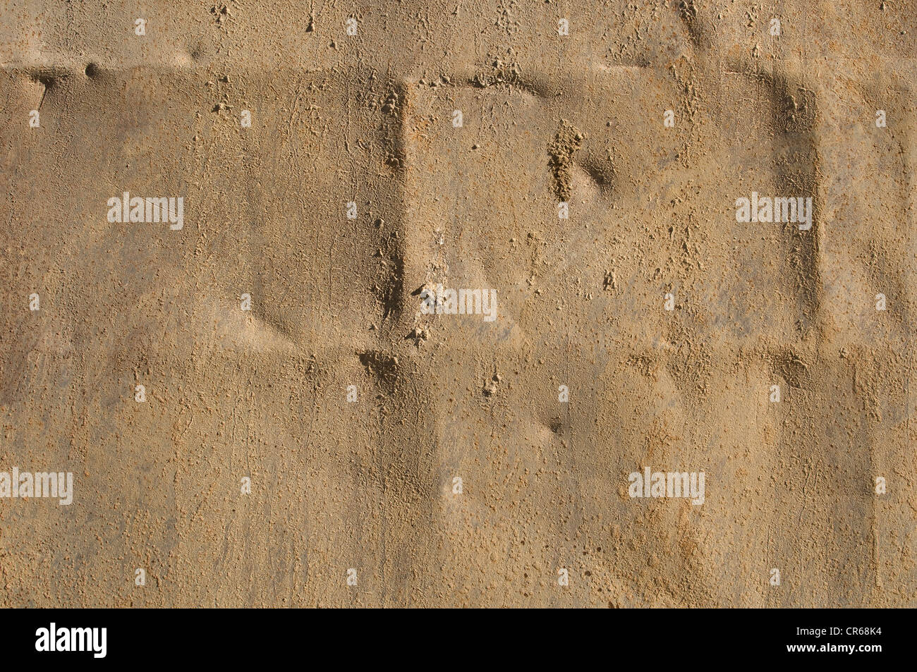 Metal plate, background - Stock Image