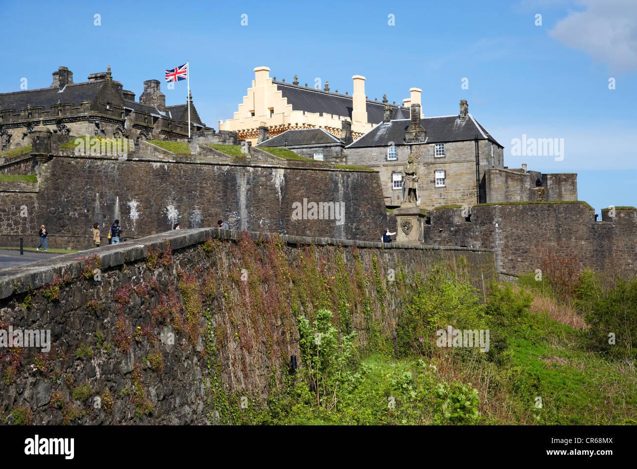 stirling castle scotland uk Stock Photo