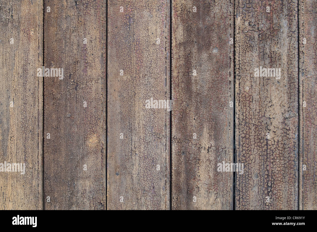 Weathered wooden wall, background - Stock Image