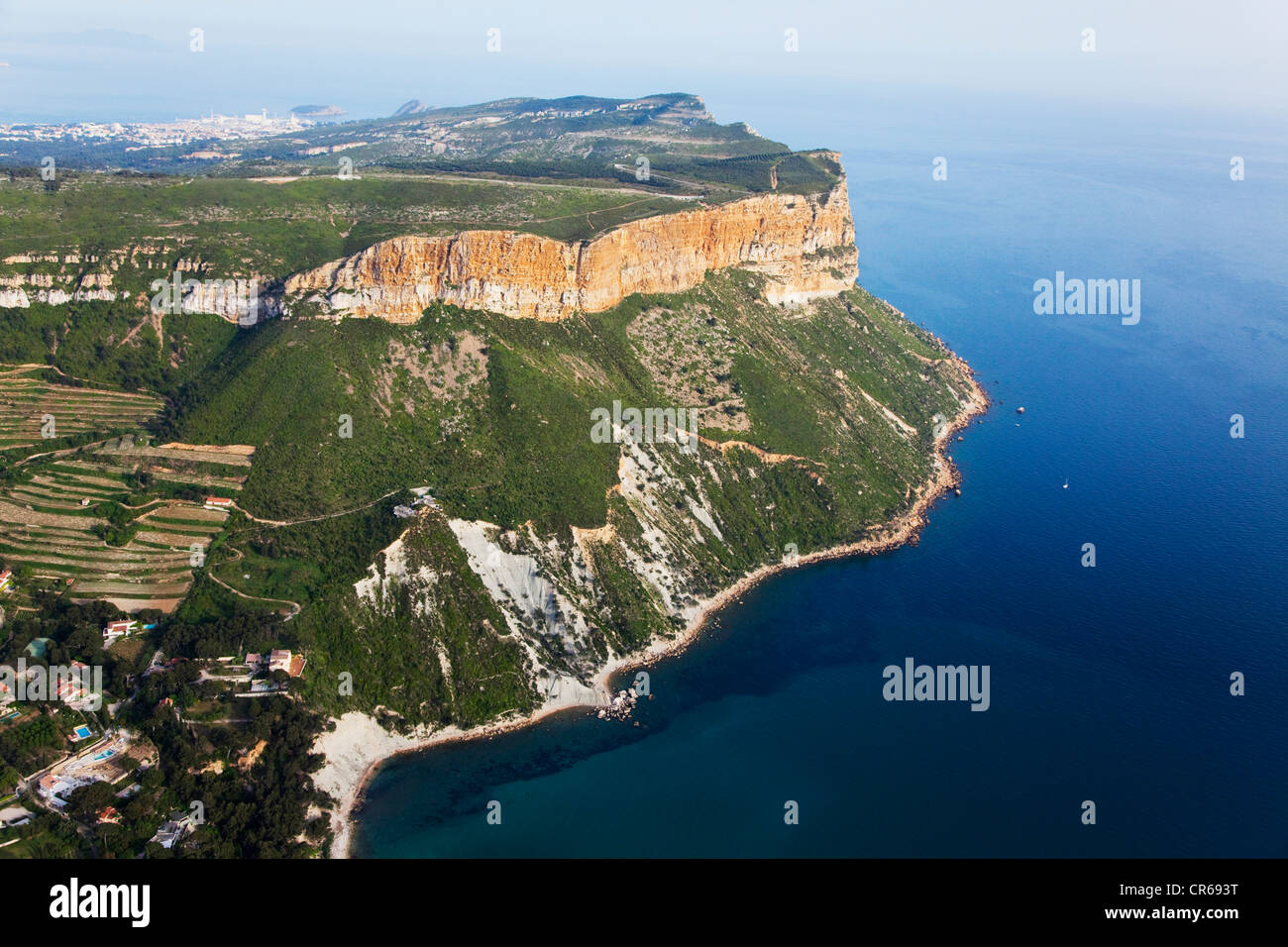 france bouches du rhone cassis cap canaille the highest coastal stock photo 48696700 alamy. Black Bedroom Furniture Sets. Home Design Ideas