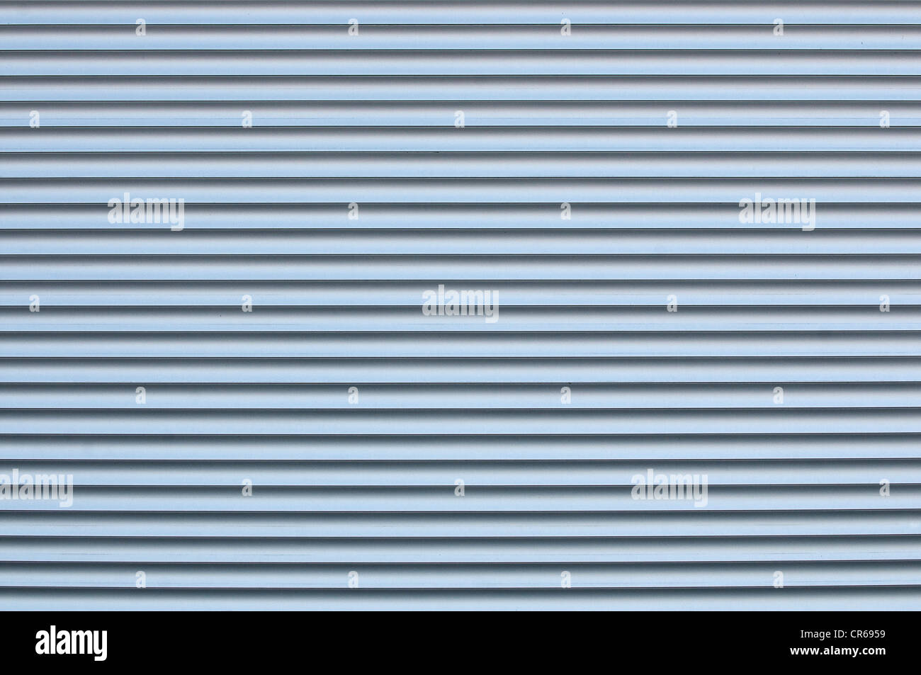 Metal blinds, graphic - Stock Image