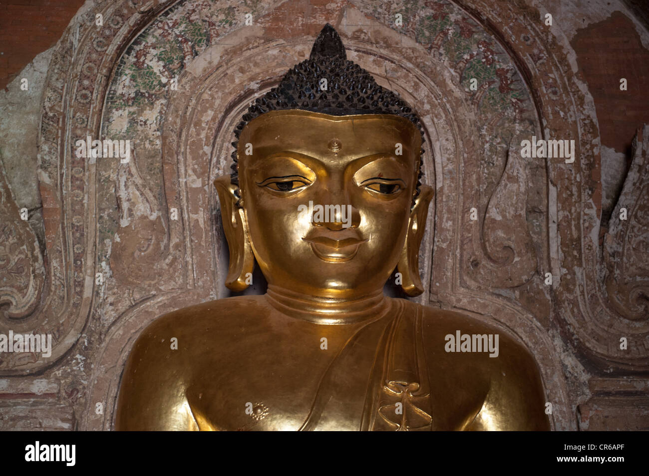 Thoughtfull Buddha - Stock Image