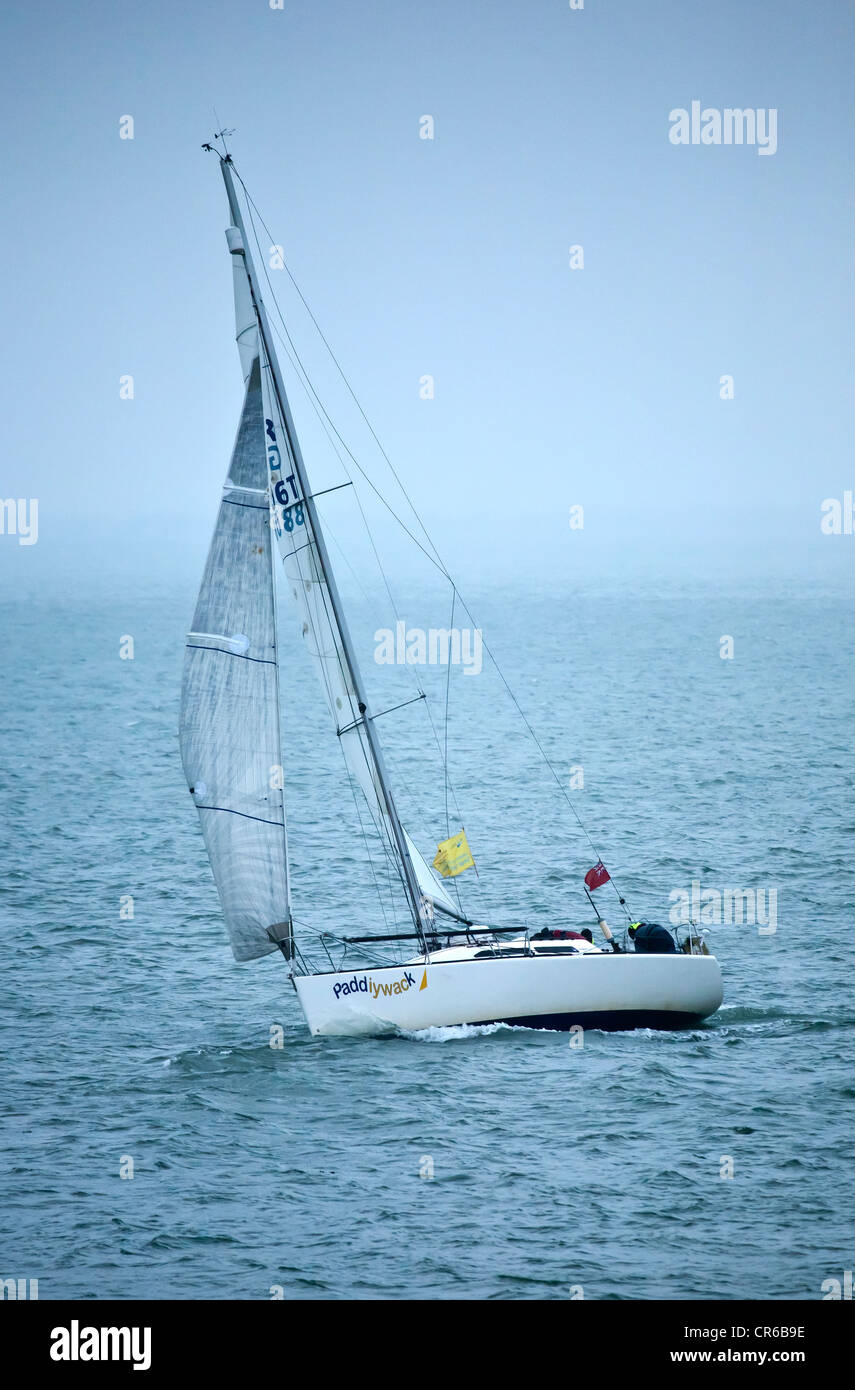 Paddiywack at the Start of London - Portland Small Ships Race 2012 - Stock Image