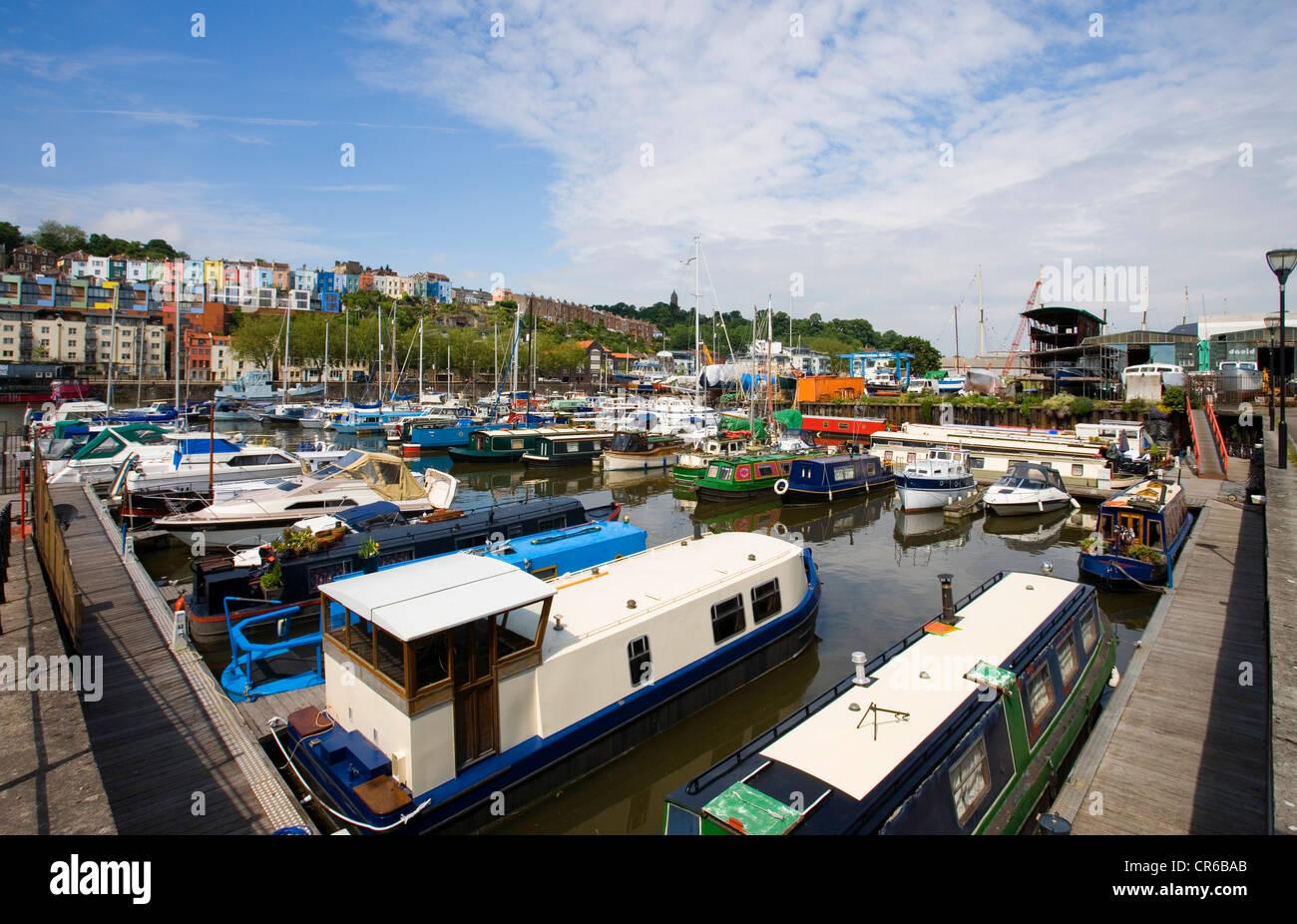 Bristol City Docks - Stock Image
