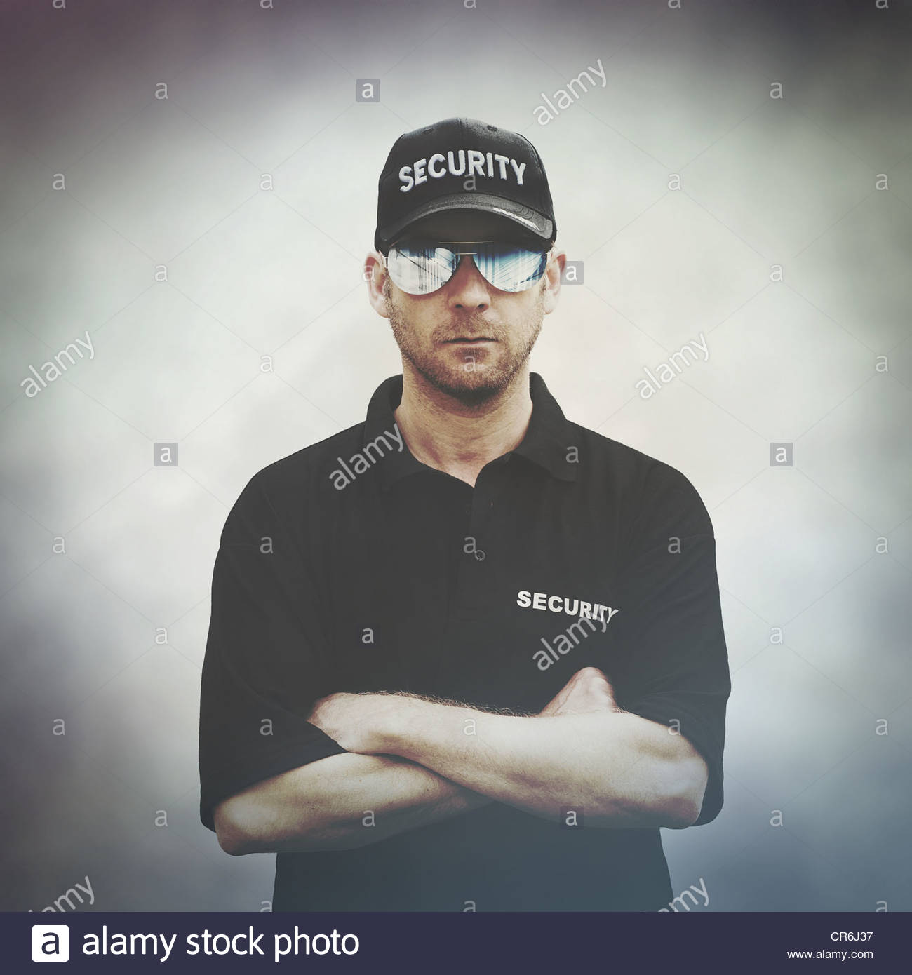 security control - Stock Image