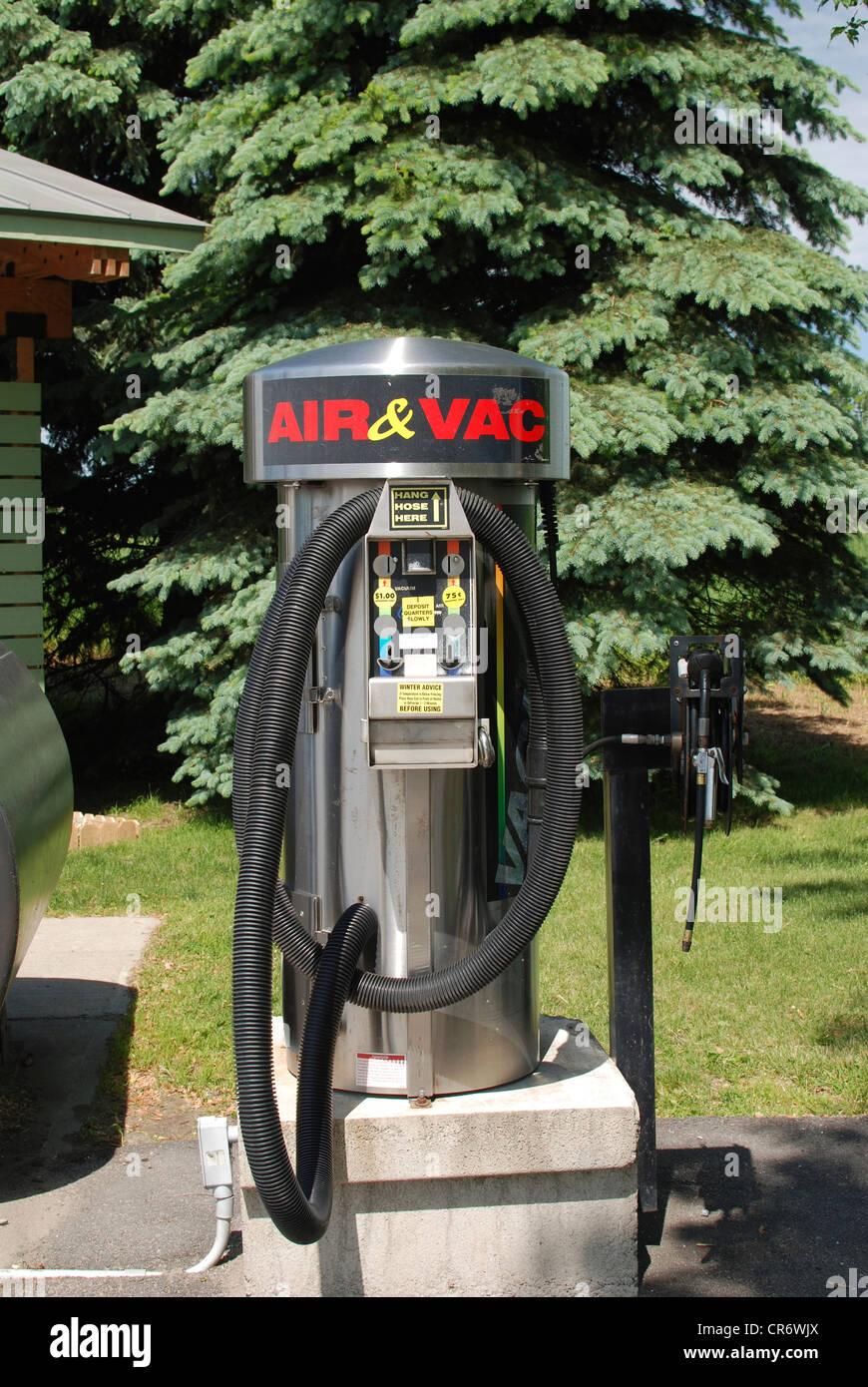 Car Vacuum Station Stock Photo 48709666 Alamy