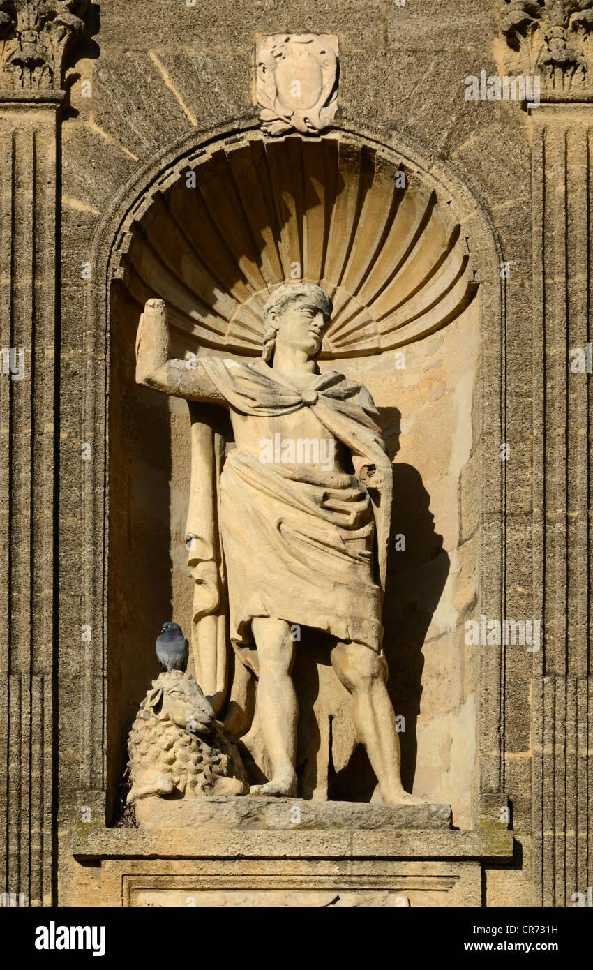 Abraham Statue Monument Sec Aix-en-Provence Provence France - Stock Image