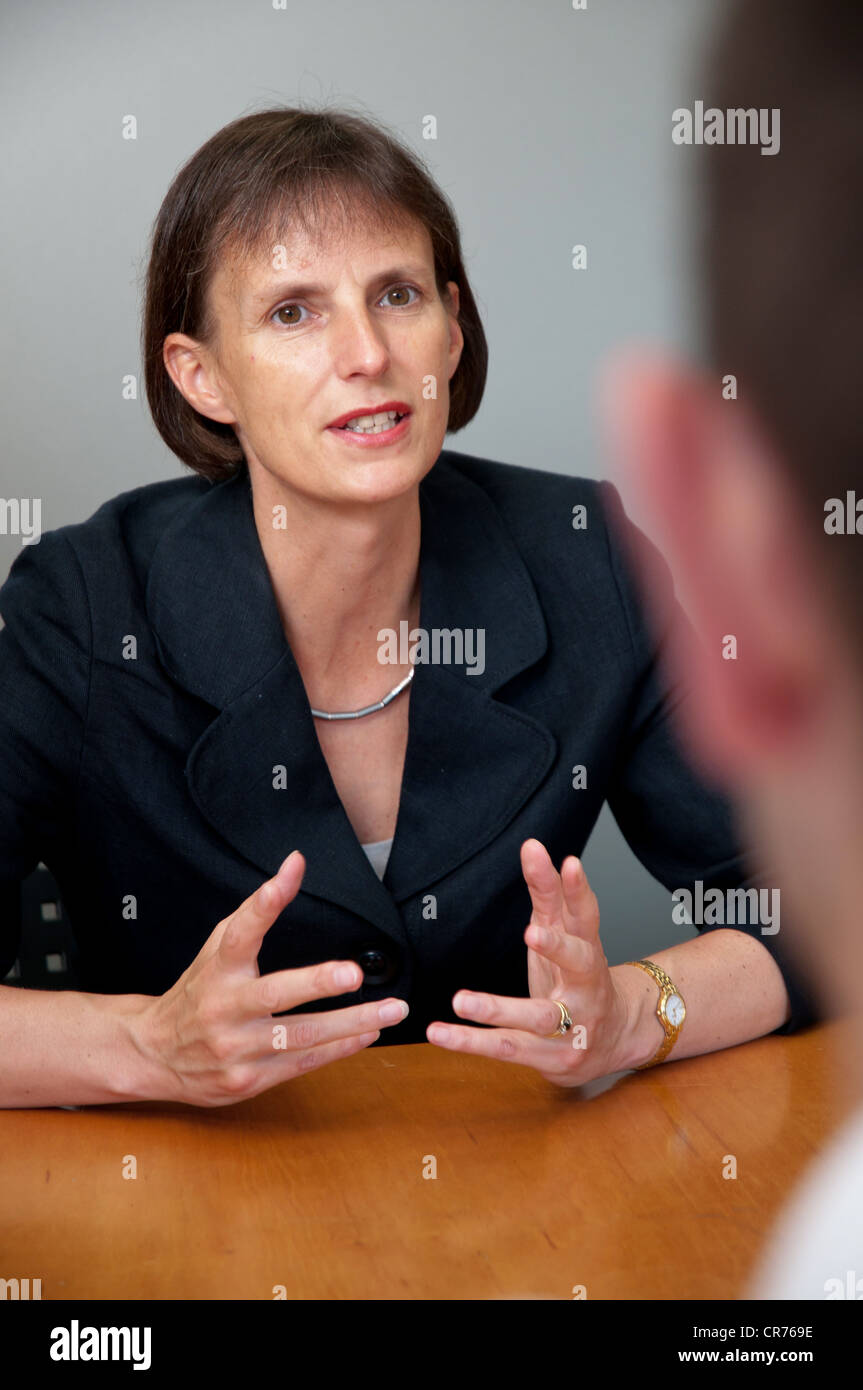 Heidi Mottram OBE, Chief Executive Officer of Northumbrian Water - Stock Image