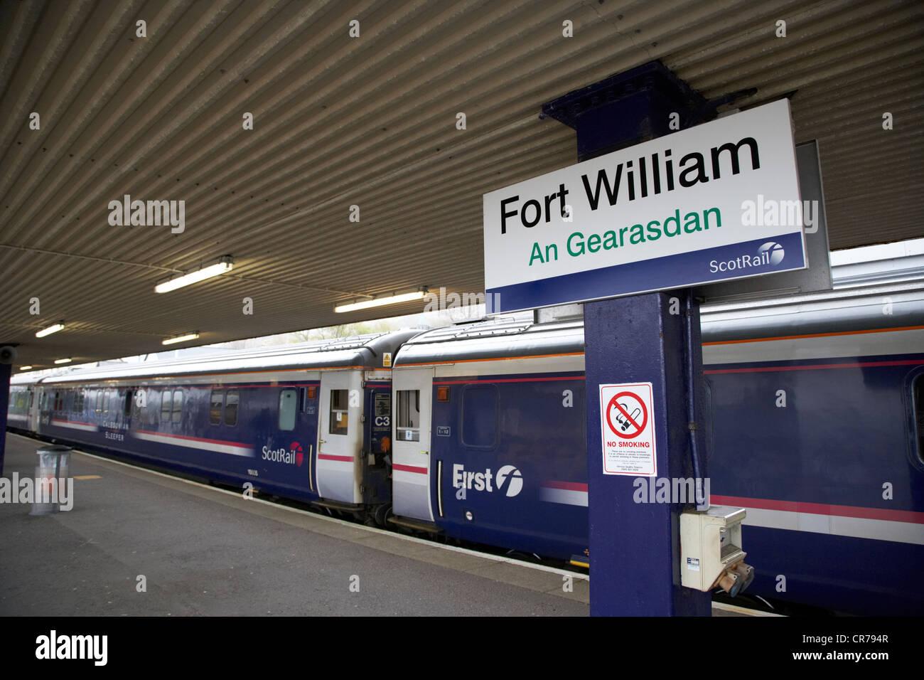 Fort William Train Station Stock Photos Amp Fort William