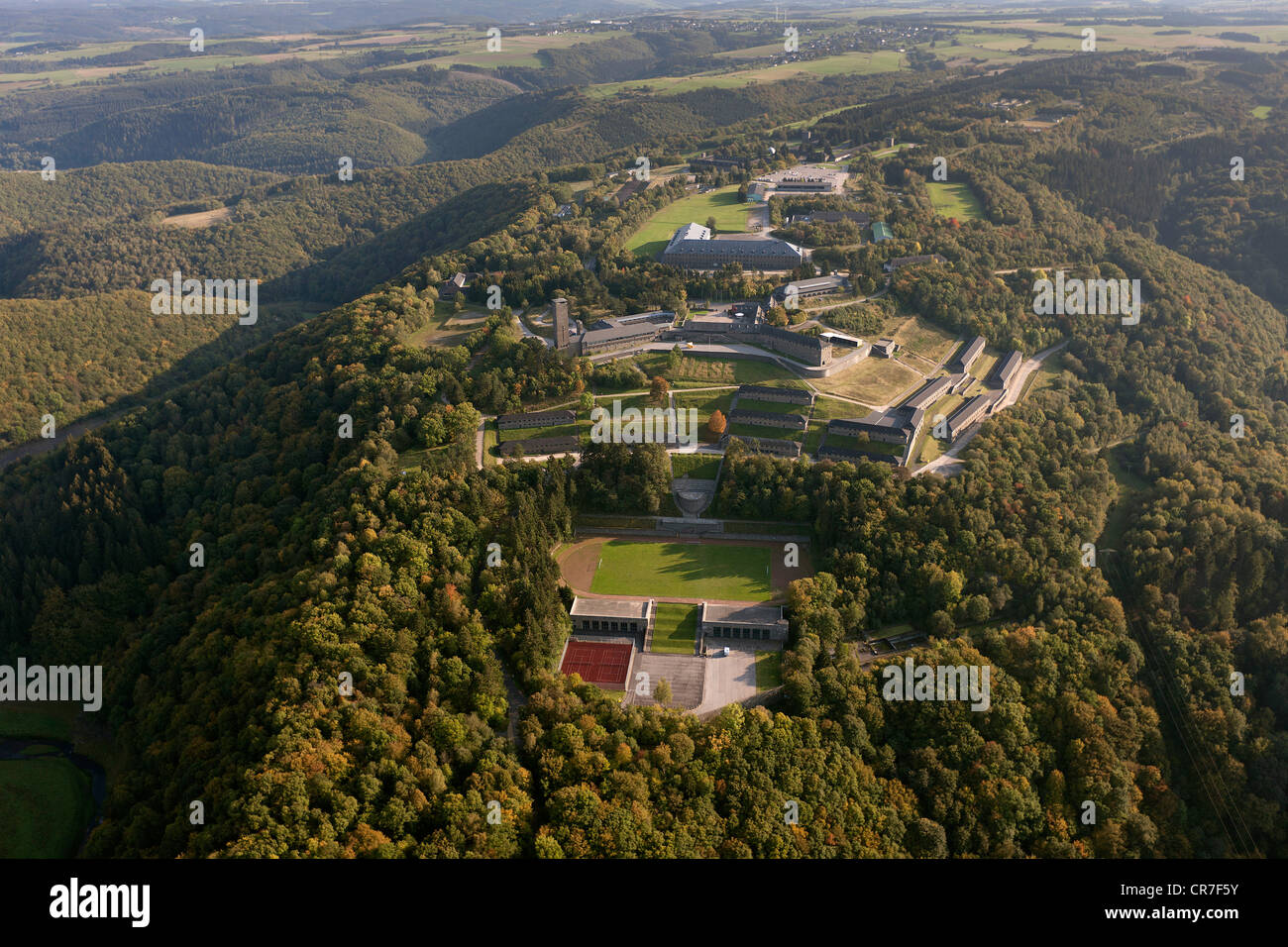 Aerial view ordensburg vogelsang a former national socialist estate stock photo 48723415 alamy - Euskirchen mobel ...
