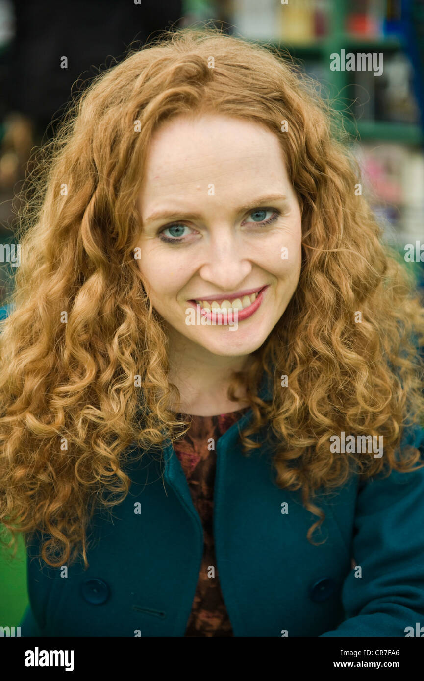 Kate Williams, English author, historian and television presenter pictured at The Telegraph Hay Festival 2012, Hay - Stock Image