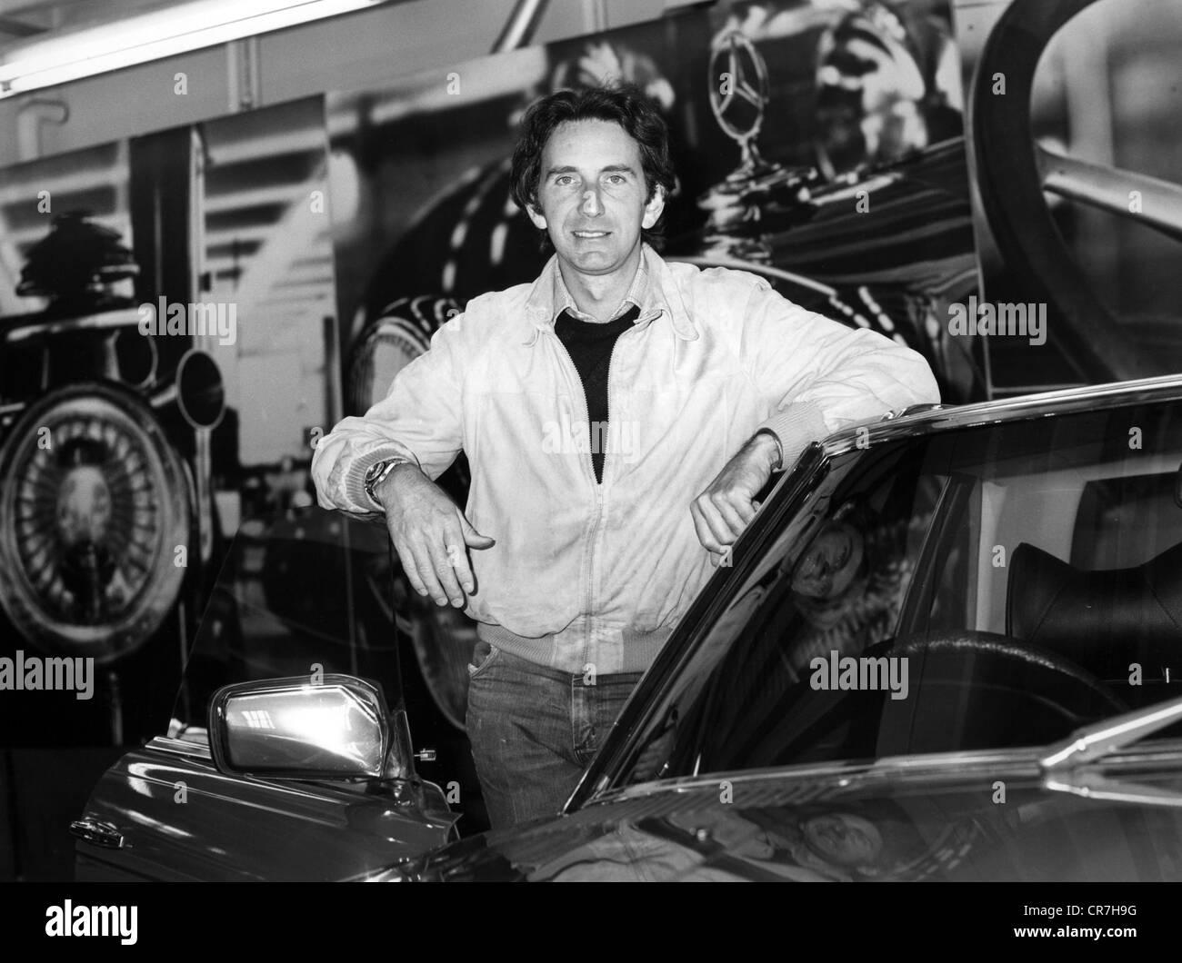 Watson, John Marshall 'Wattie', * 4.5.1946, Britisch racing driver, half length, 1990s, Additional-Rights - Stock Image