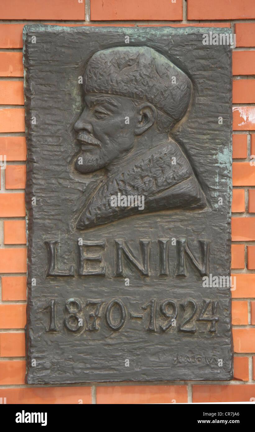 Communist era statue in monument park outside Budapest Hungary, August 7, 2010 - Stock Image