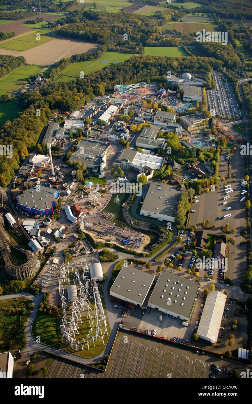 Aerial View Movie Park Germany Amusement Bottrop Kirchhellen Cr Alamy