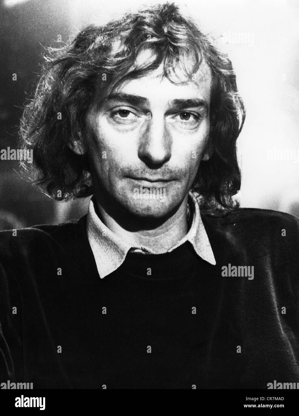 Hirsch, Ludwig, 28.2.1946 - 24.11.2011, Austrian, musician, singer, actor, portrait, 1970s, Additional-Rights-Clearances - Stock Image