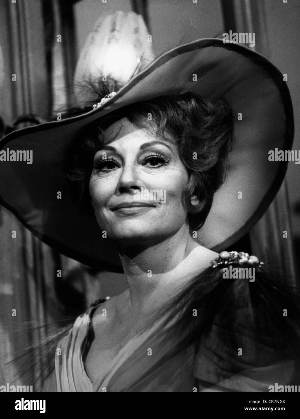Müthel, Lola, 9.3.1919 - 11.12.2011, German actress, portrait, 1970s, Additional-Rights-Clearances-NA - Stock Image