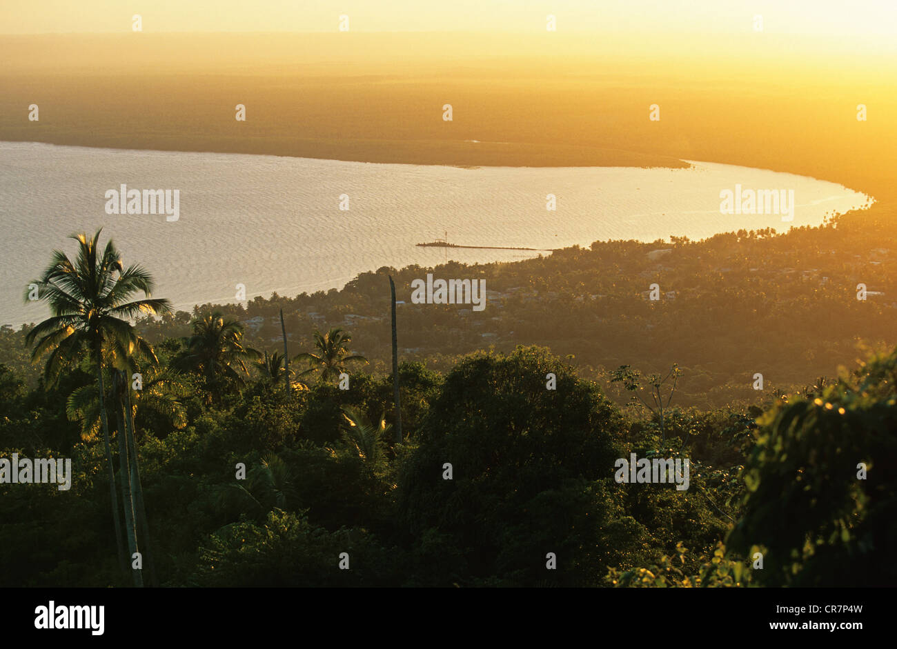 Dominican Republic, Samana Peninsula, Sanchez - Stock Image