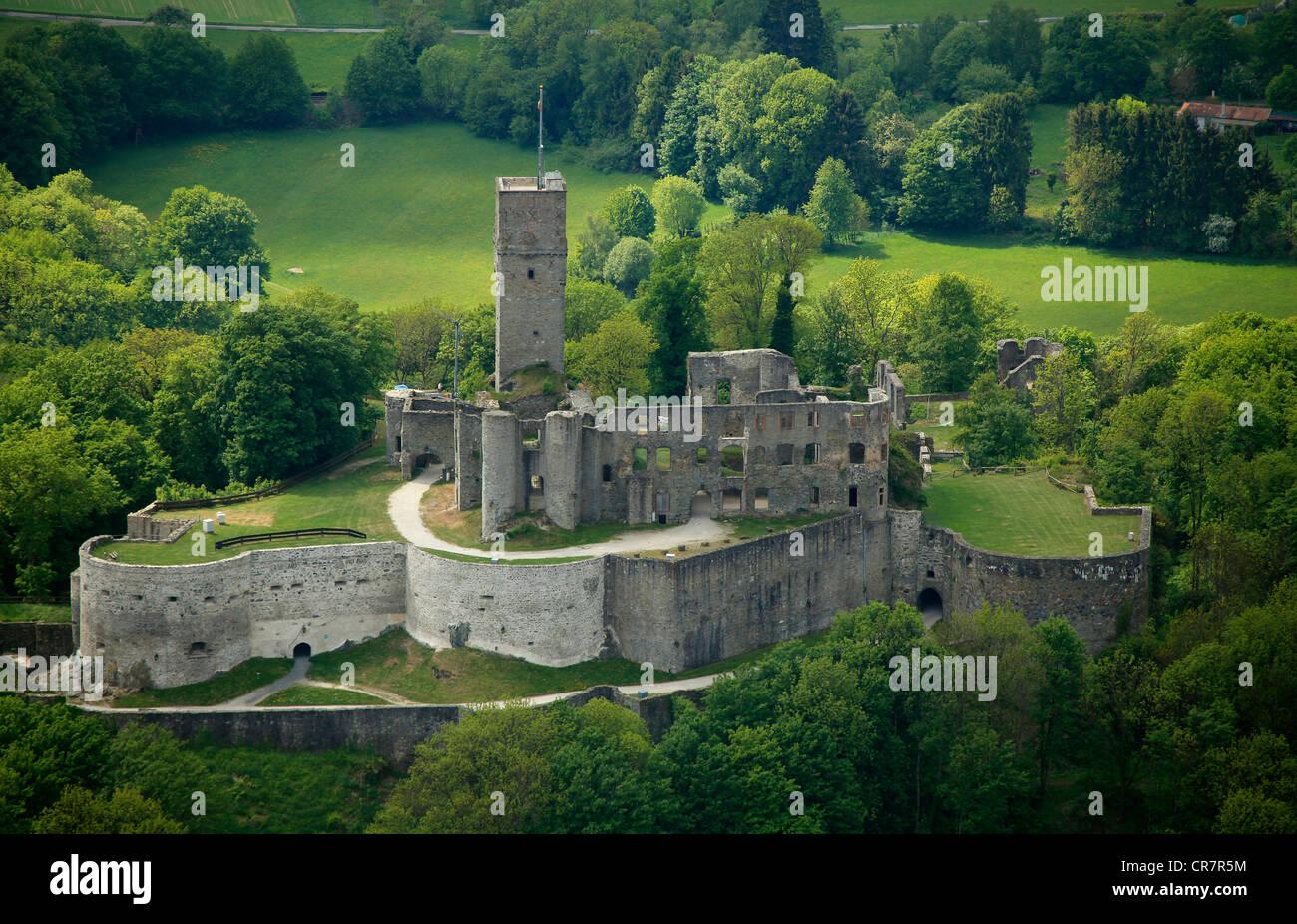 aerial view burg koenigstein castle ruins koenigstein im taunus stock photo 48729680 alamy. Black Bedroom Furniture Sets. Home Design Ideas