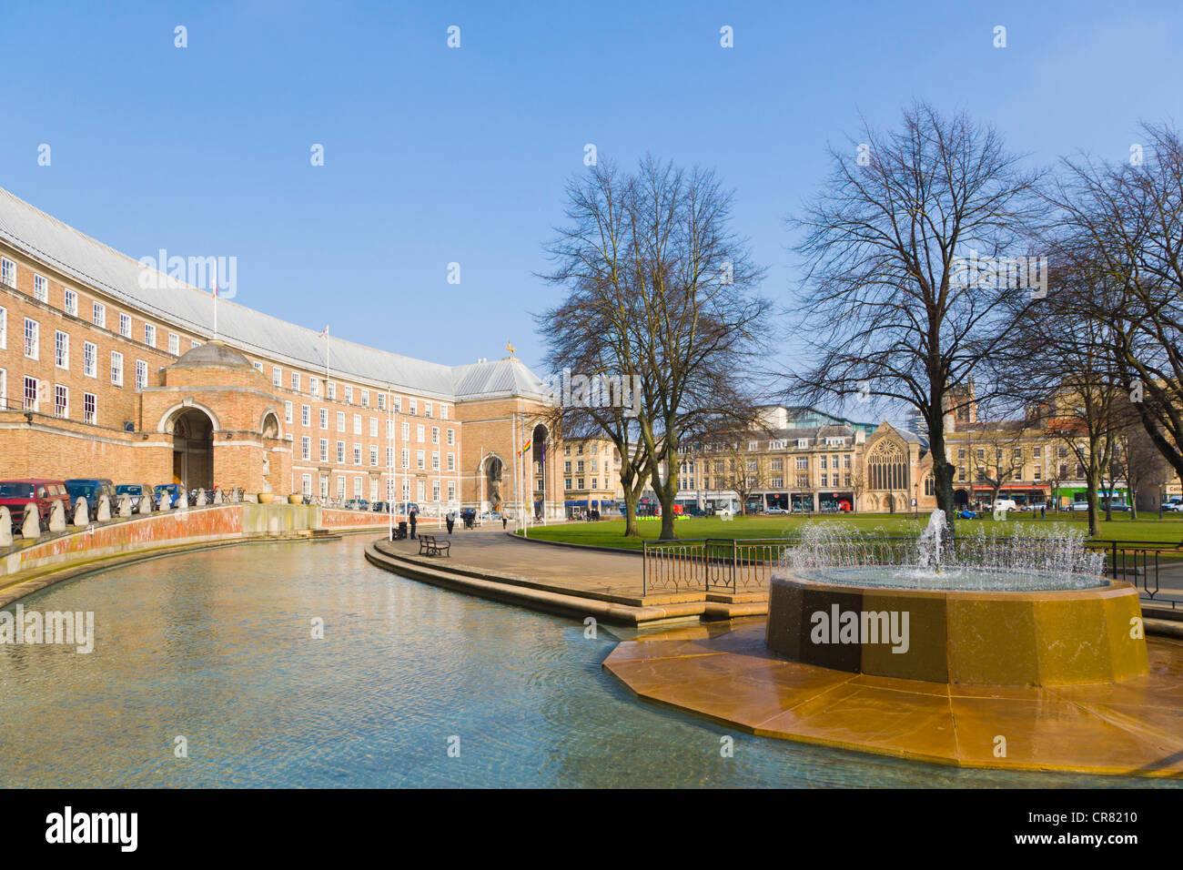 The Council House, the seat of local government, College Green, Bristol, Gloucestershire, England, United Kingdom, - Stock Image
