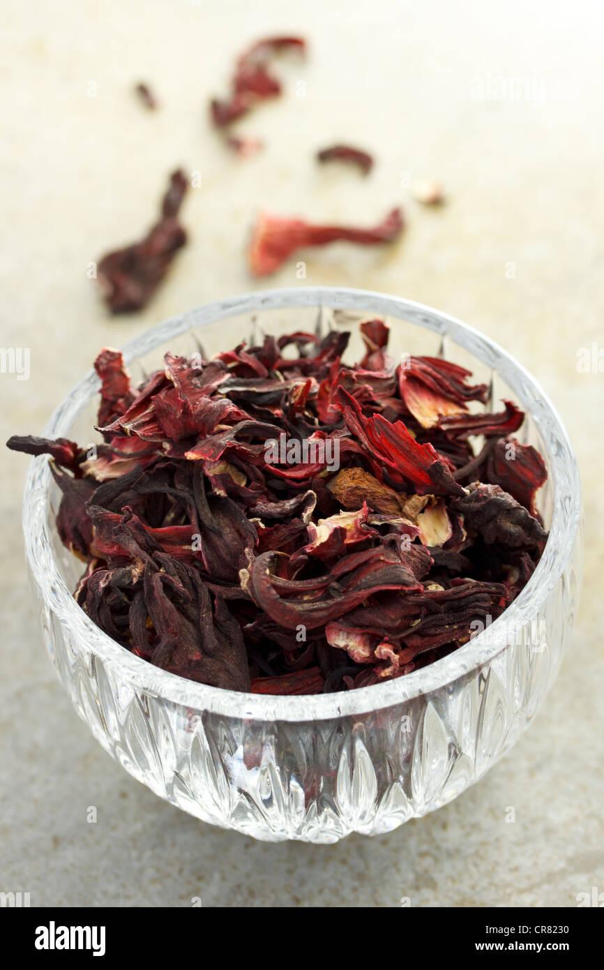 Hibiscus Tea - Stock Image
