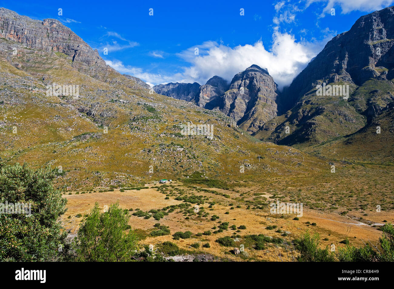 South Africa, Western Cape, Route 62 is a tourist route in South Africa that meanders between Cape Town, Oudtshoorn, - Stock Image