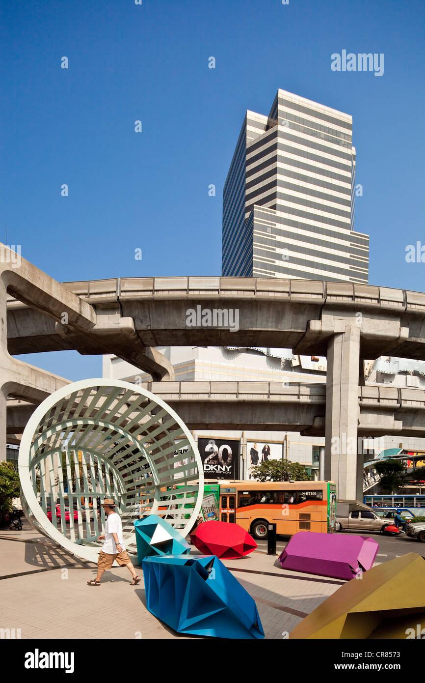 Thailand, Bangkok, Siam square, the Grand EGV - Stock Image