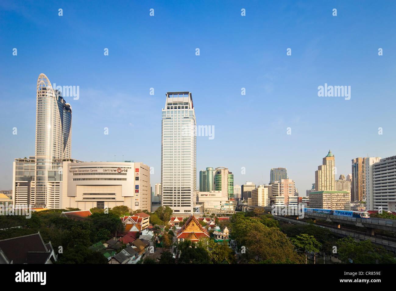 Thailand, Bangkok, Siam square district Stock Photo