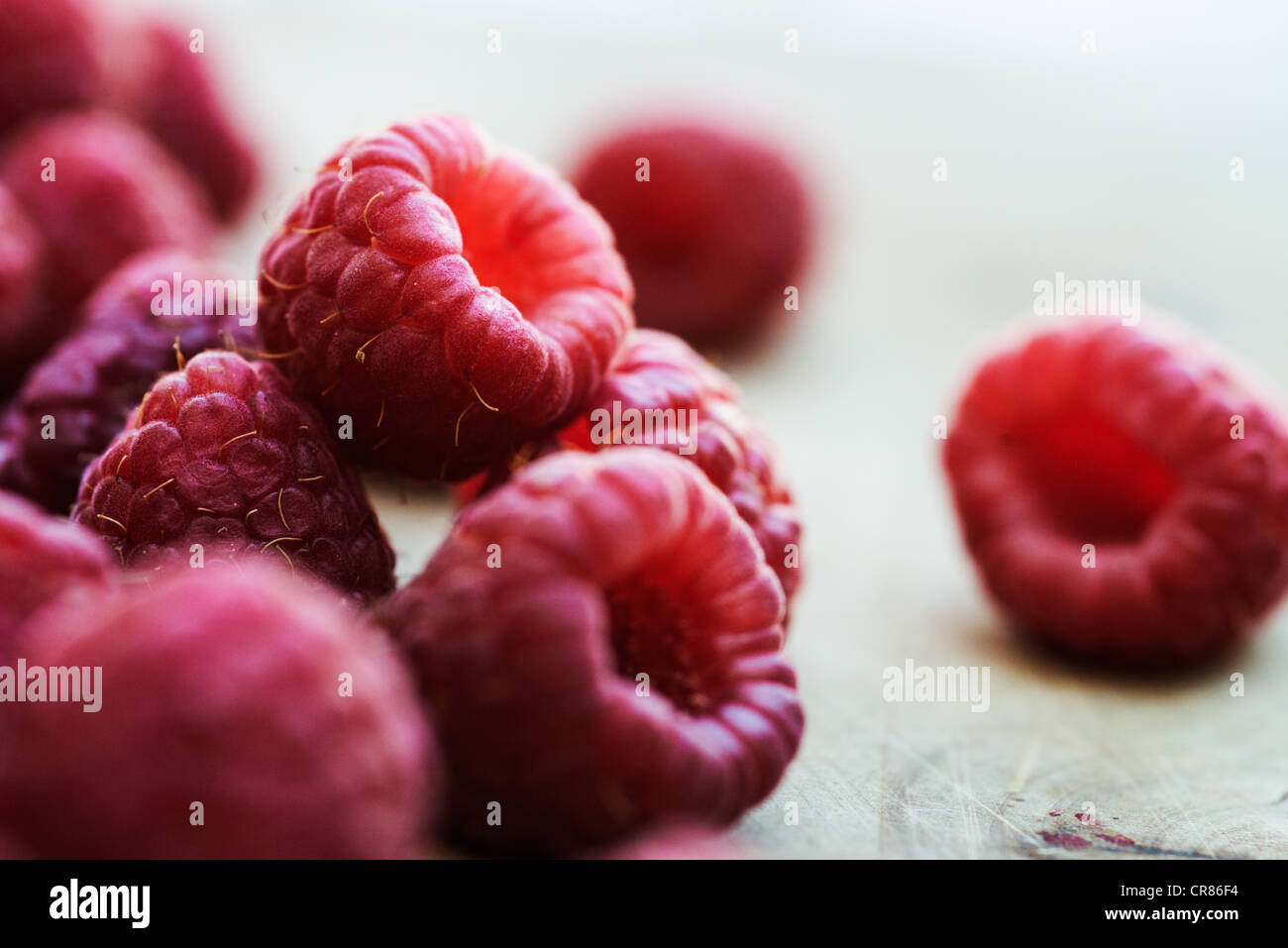 Rasberries - Stock Image