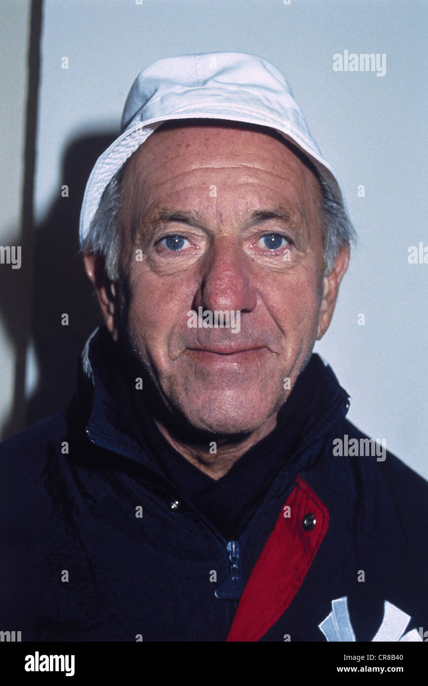 Klugman, Jack, 27.4.1922 - 24.12.2012, American actor, portrait, 1990s, Additional-Rights-Clearances-NA - Stock Image