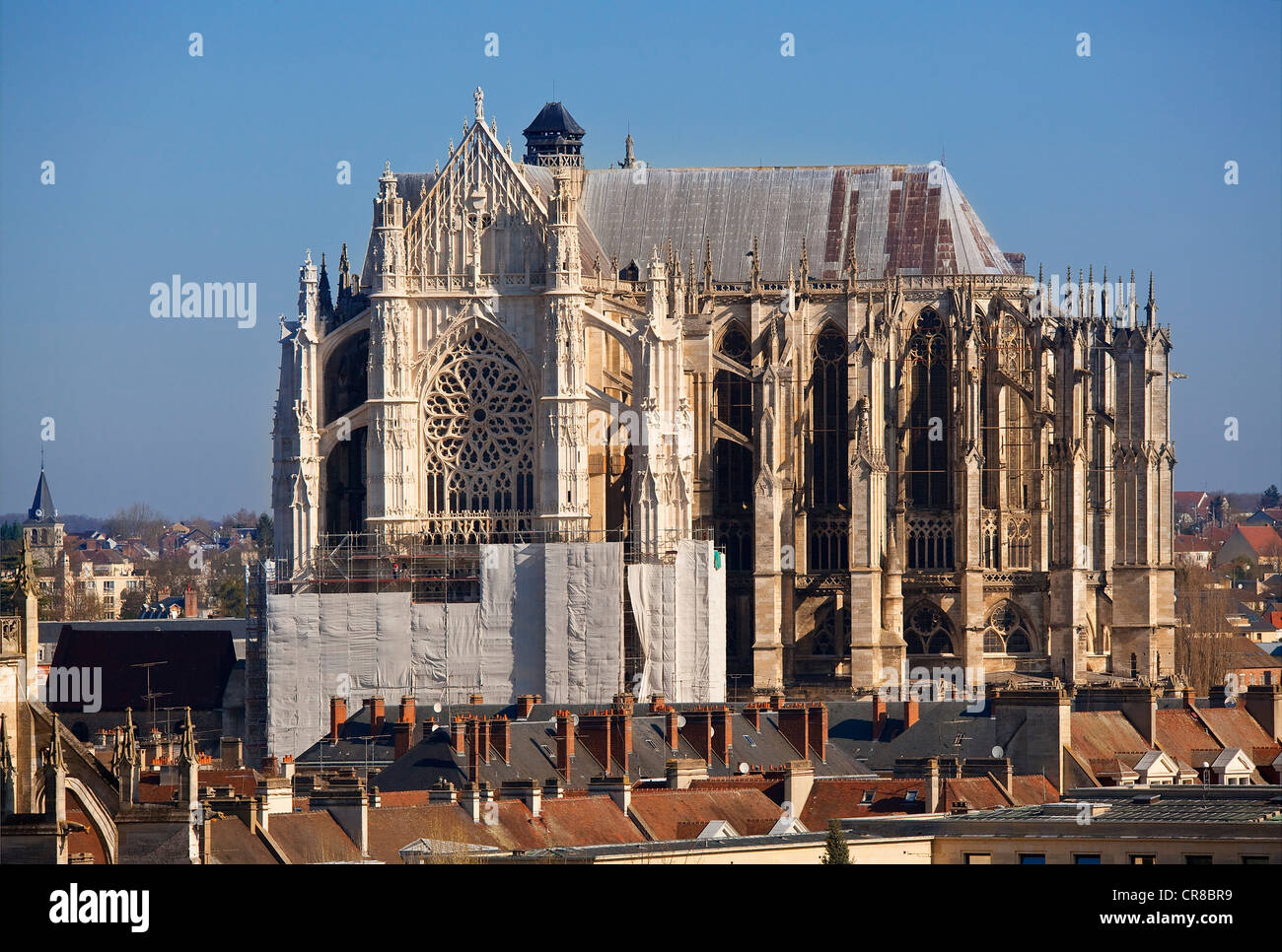 France, Oise, Beauvais, St Pierre Cathedral - Stock Image