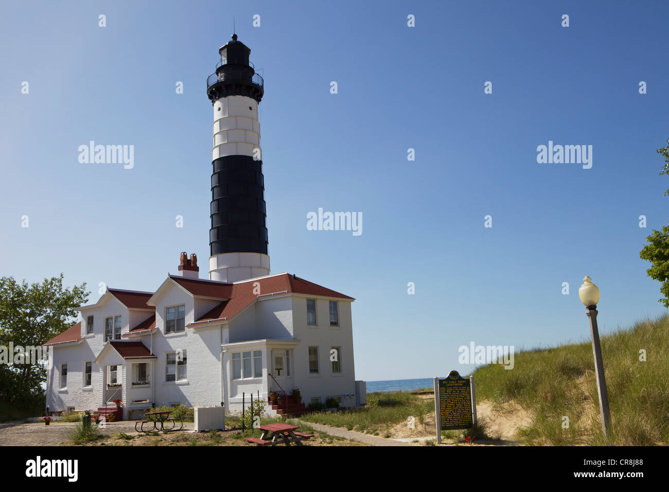 Big Sable Point Lighthouse - Stock Image