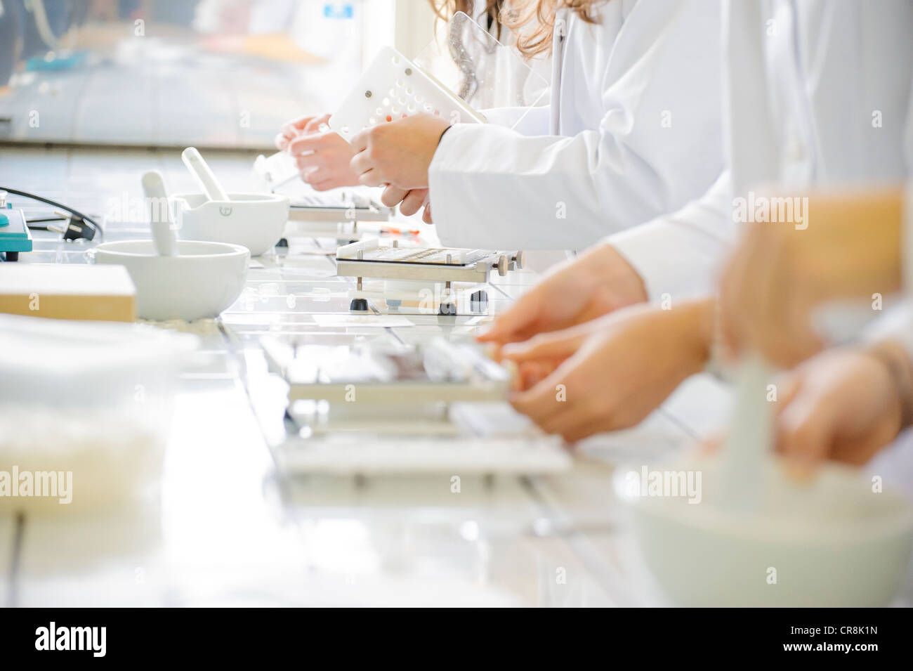 making pills stock photo 48748385 alamy
