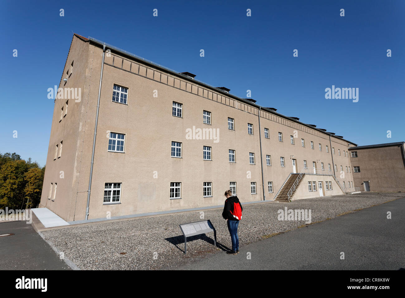 Chamber building or depot of possessions, Buchenwald memorial, former concentration camp near Weimar, Thuringia, - Stock Image