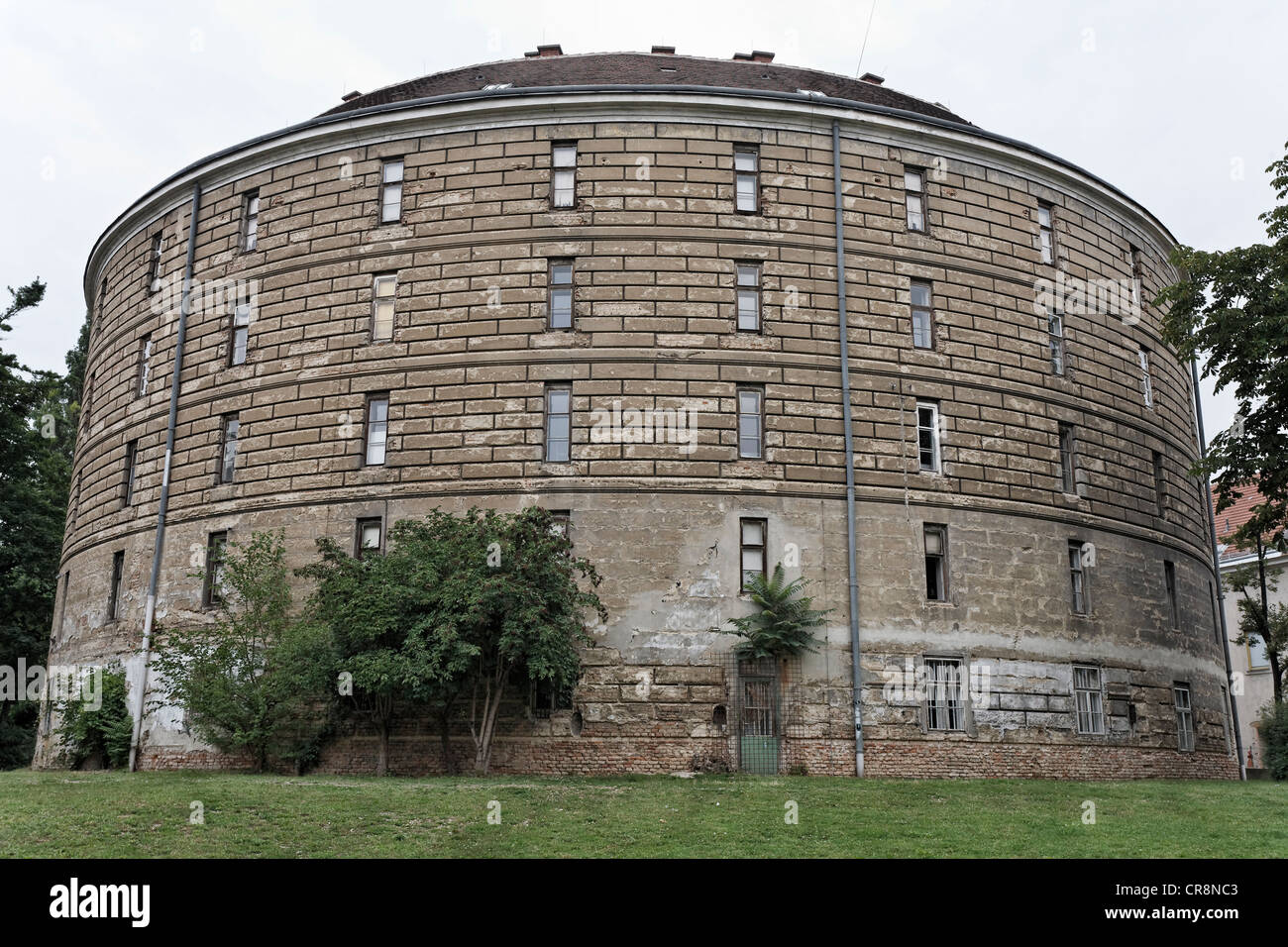 Narrenturm hospital, Fool's Tower, 1784, world's oldest building to accommodate the mentally ill, Pathologisch-anatomisches Stock Photo
