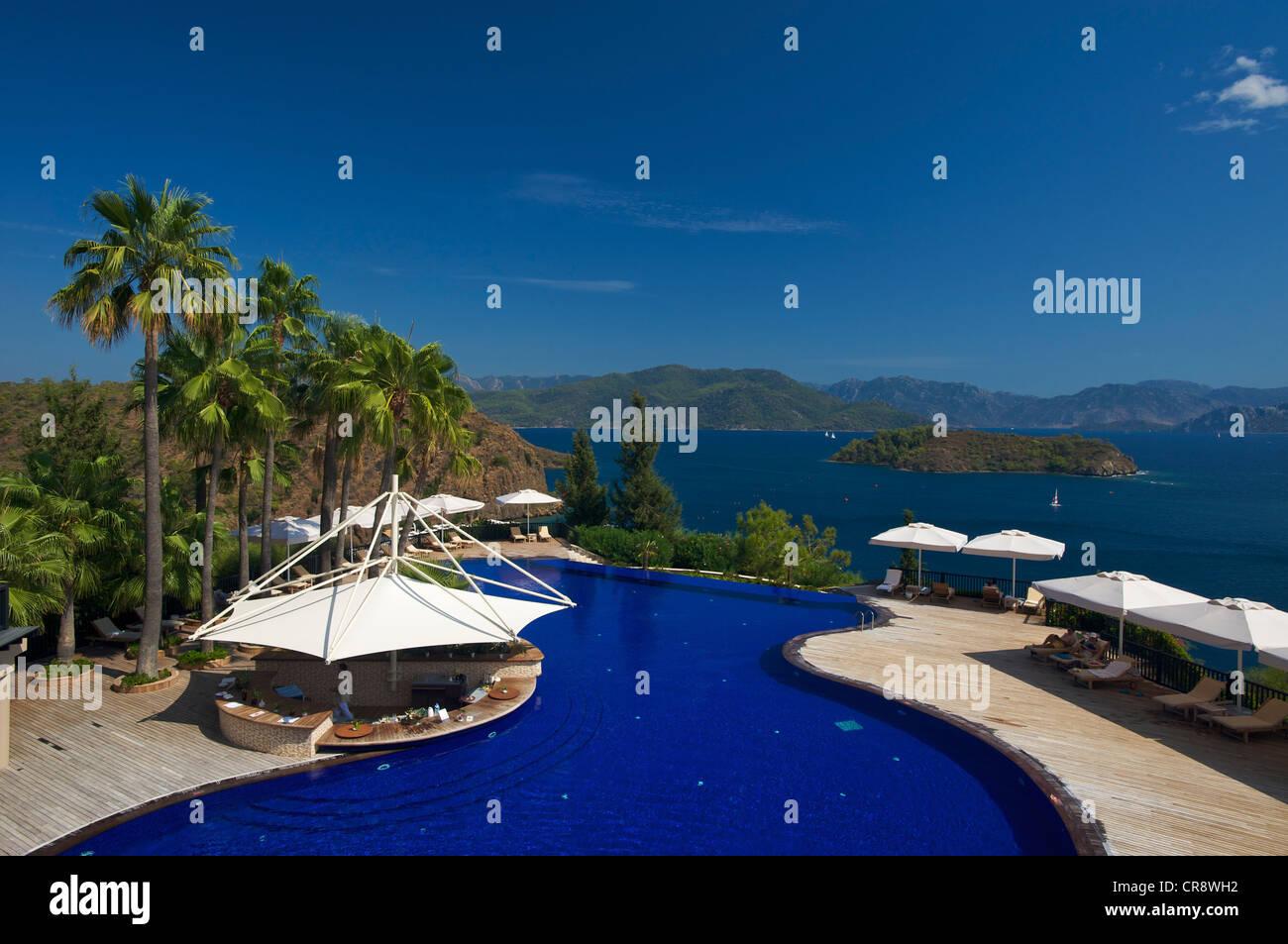 Swimming Pool At The D Maris Hotel In Marmaris Turkish Aegean Coast