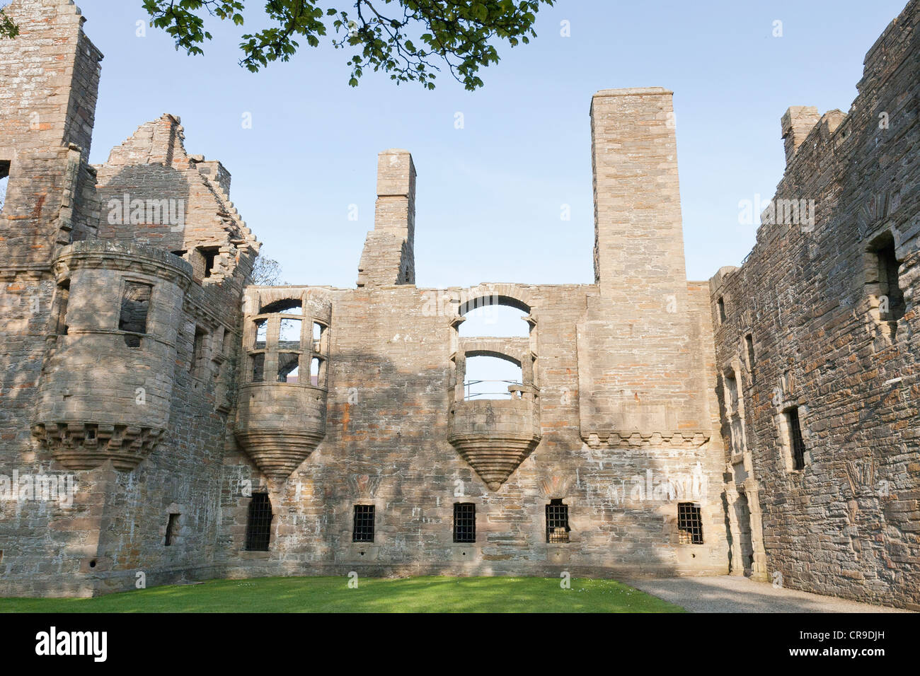 Earl's Palace, Kirkwall, Orkney Isles, Scotland - Stock Image