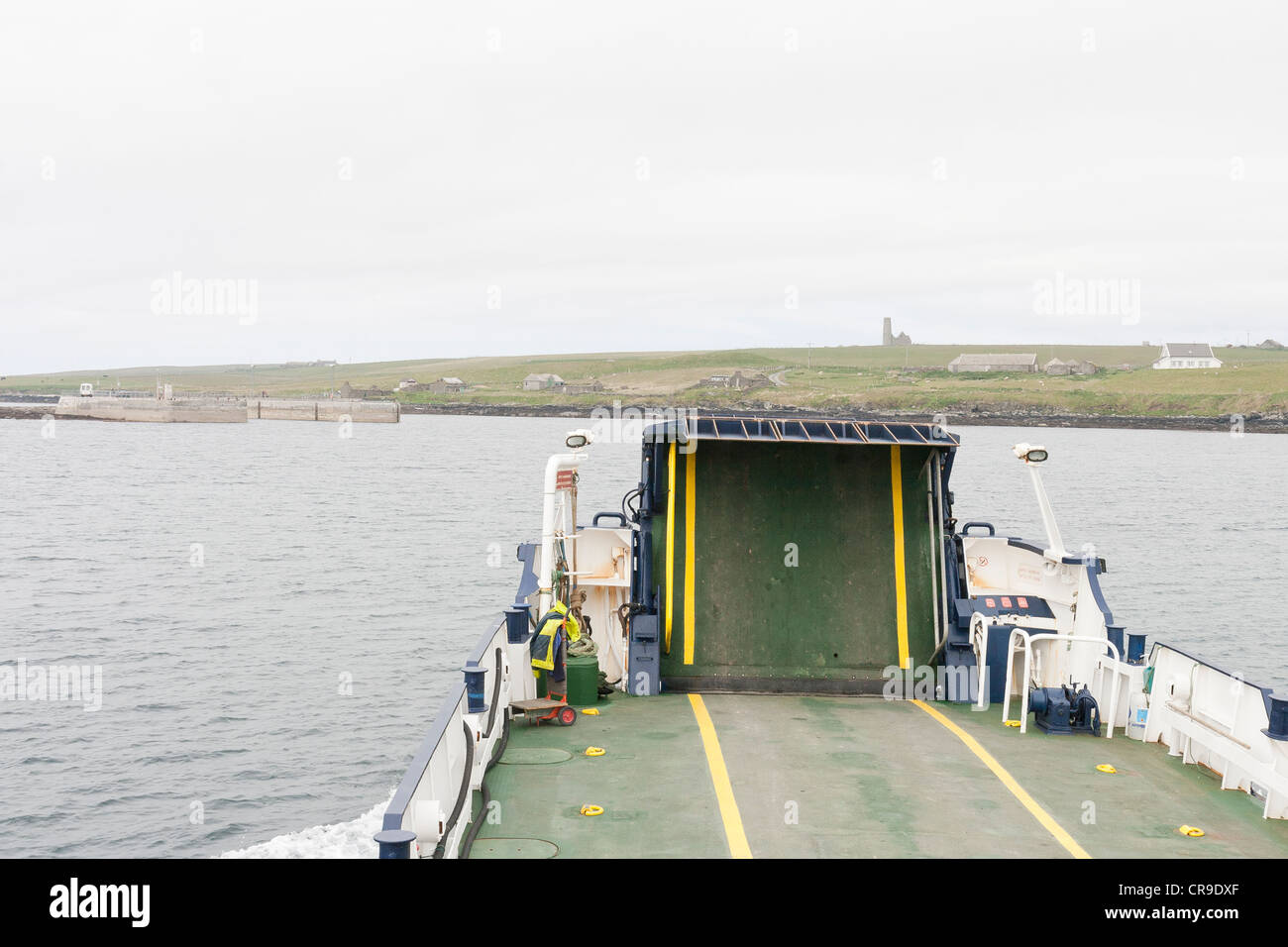 The Tingwall Rousay Ferry, Orkney Isles, Scotland - Stock Image