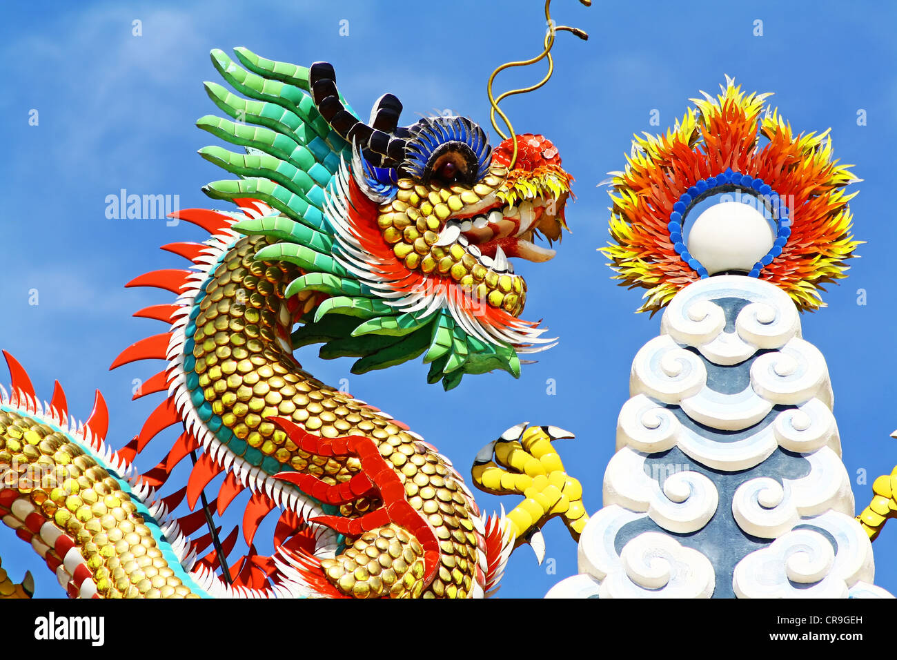 Chinese Dragon - Stock Image