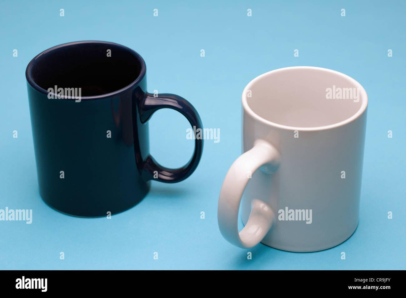 Two mugs - Stock Image